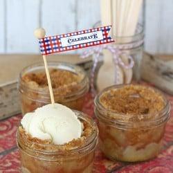 Apple Pie in a Jar - by Glorious Treats
