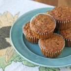 Morning Glory Muffins Recipe - glorioustreats.com