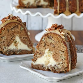 Glorious Treats Apple Cream Cheese Bundt Cake