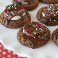 Hot Cocoa Cookies - glorioustreats.com
