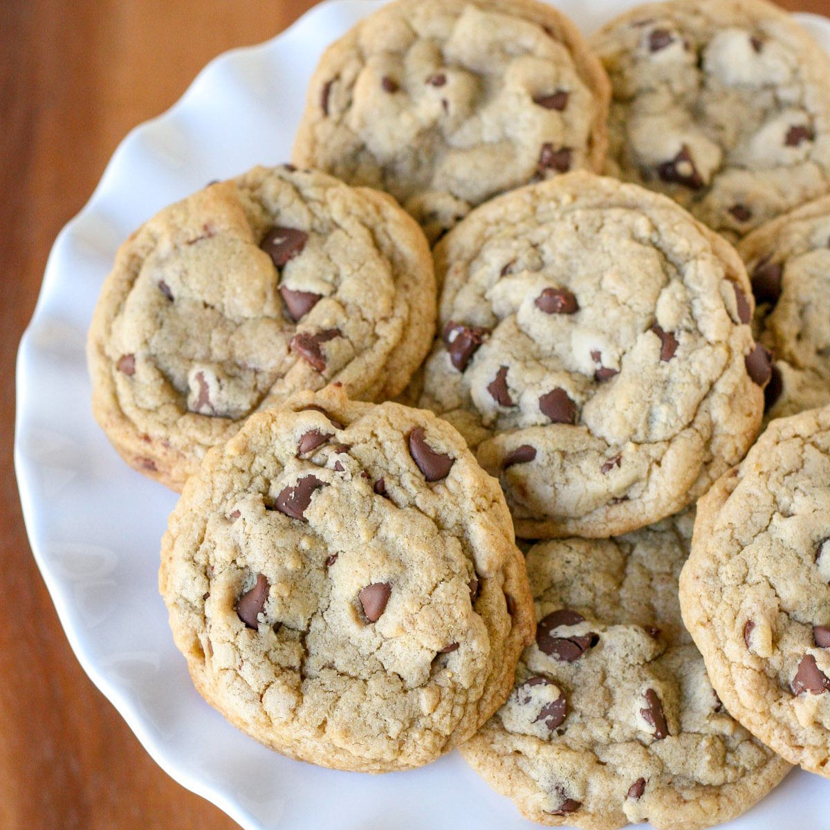 Chewy Chocolate Chip Cookies Glorious Treats