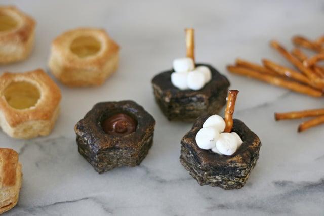 Chocolate Marshmallow Cauldrons - glorioustreats.com