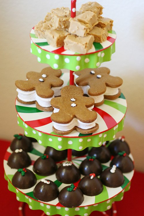 Pretty Christmas treats (for a Hot Cocoa Bar) - glorioustreats.com