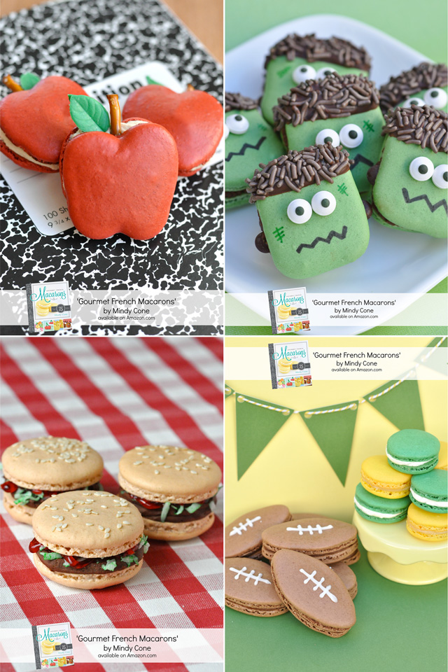 Creative Macaron Ideas (and Gourmet French Macarons Book Giveaway) - on glorioustreats.com