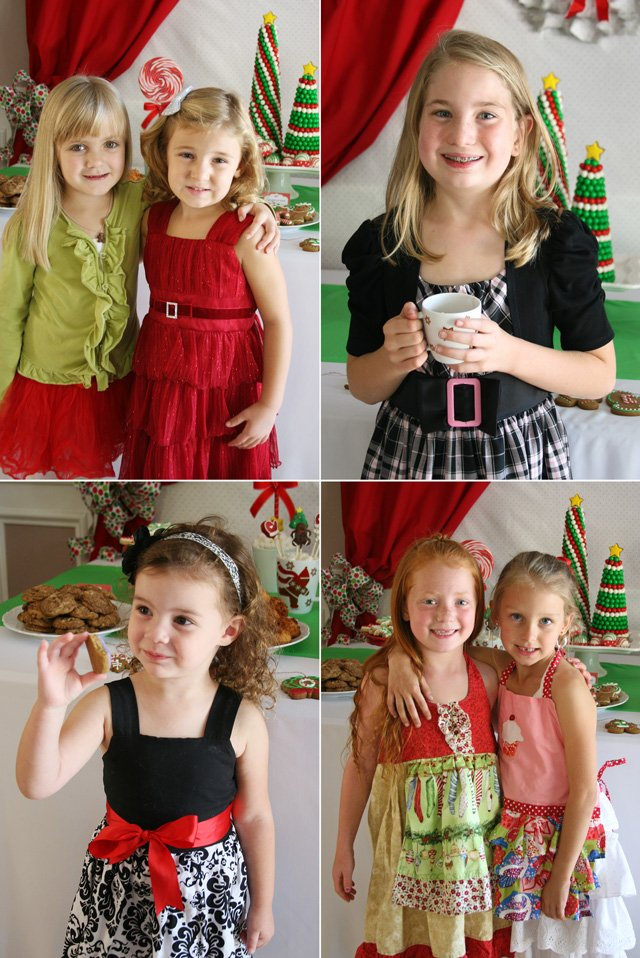 Kids at Christmas Party - glorioustreats.com