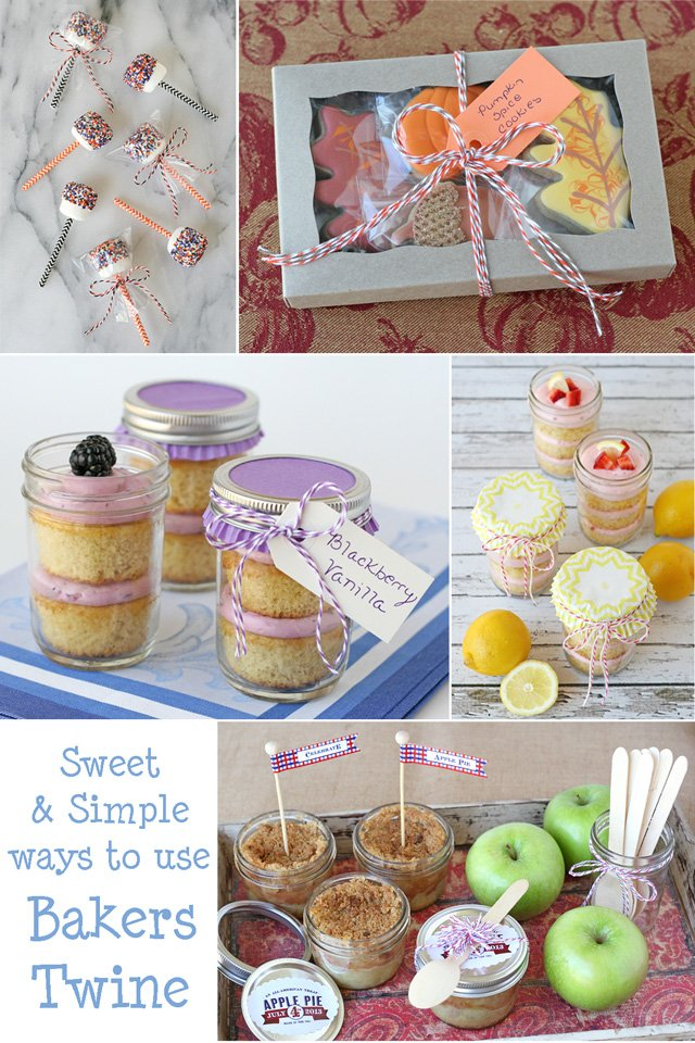 Cute and simple ways to use Bakers Twine (and a giveaway) - Glorious Treats