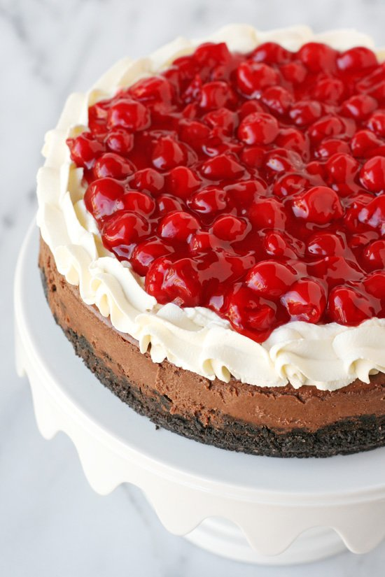 Black Forest Cheesecake!! - by glorioustreats.com