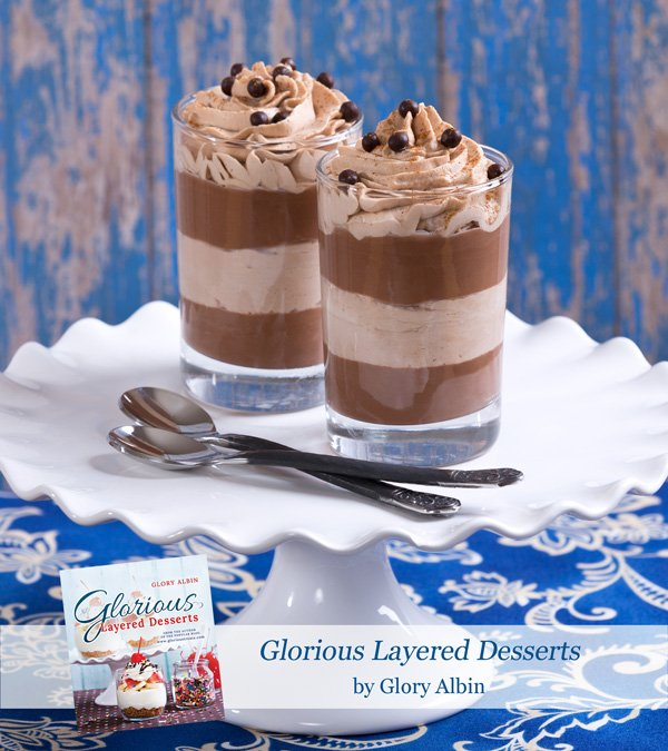 Chocolate and Nutella Cream Desserts - from Glorious Layered Desserts (available on Amazon) glorioustreats.com