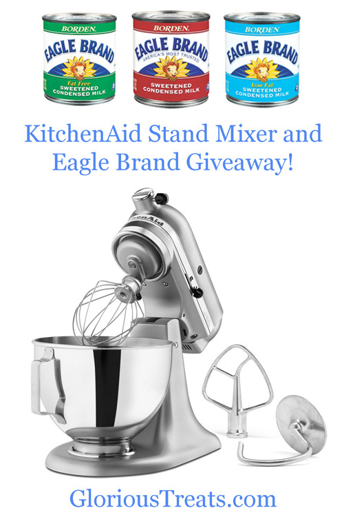 KitchenAid Mixer Giveaway - glorioustreats.com