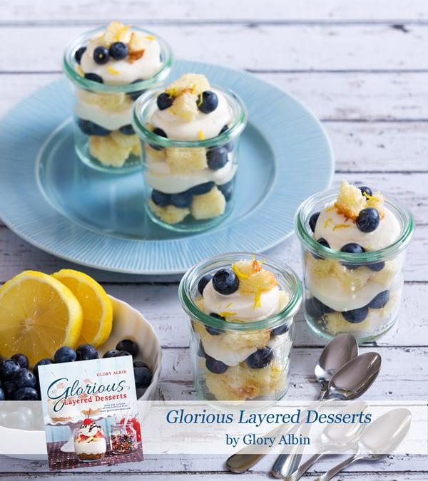 Lemon Blueberry Trifle - glorioustreats.com