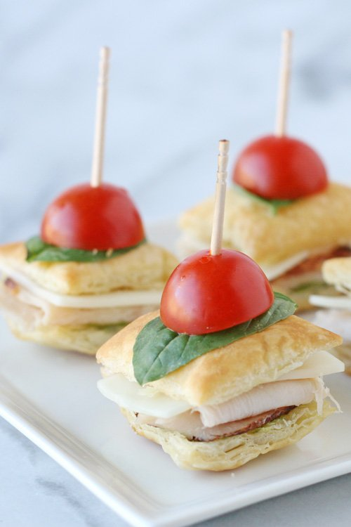 Turkey Pesto Appetizer Bites - glorioustreats.com