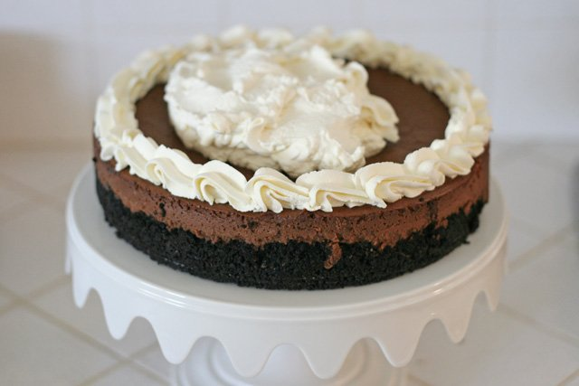Black Forest Cheesecake - glorioustreats.com