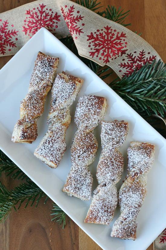 Cinnamon Sugar Pastry Twists - glorioustreats.com