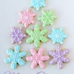 Snowflake Cookies - glorioustreats.com