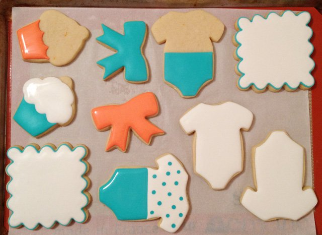 Baby Cookies Decorating Tutorial - by Glorious Treats