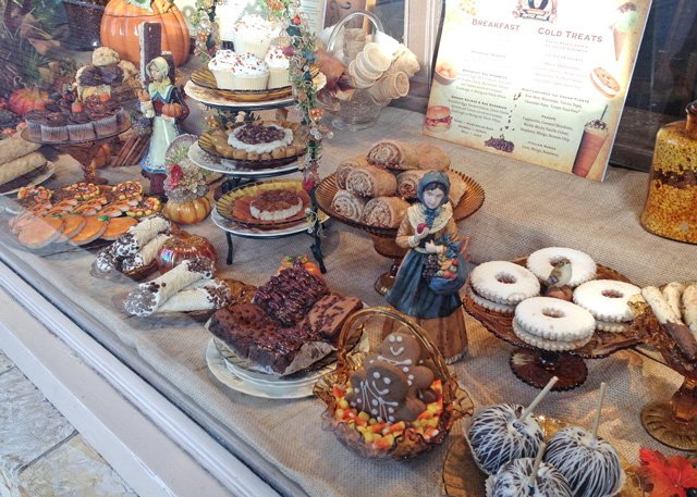 Cafe Carmel Bakery Display - Camel, California