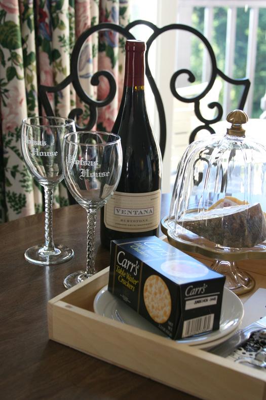 Wine and Cheese - Carmel, California