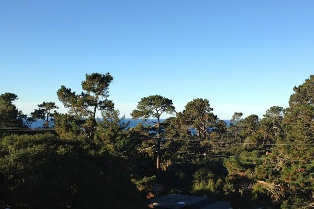 View of Pacific Ocean - Carmel, California