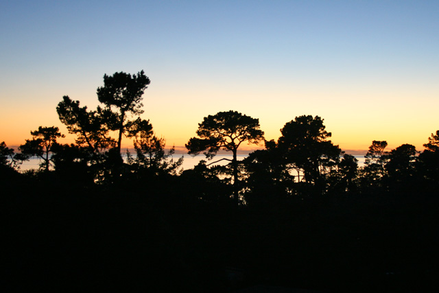 Sunset in Carmel, California