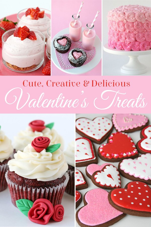 Tons of Cute Valentine's Sweets!! - glorioustreats.com