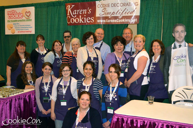 Cookie Con 2014 - via GloriousTreats.com
