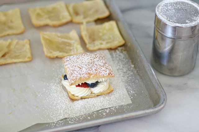 Lemon Cream Puffs with Fresh Fruit - GloriousTreats.com