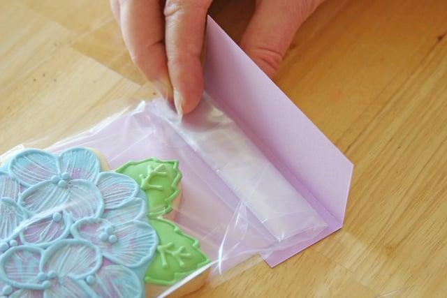 Pretty Cookie Packaging - Step by Step, via GloriousTreats.com