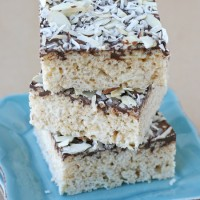 Almond Joy Krispie Treats - Yes, they are as amazing as they sound!!