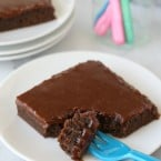 Chocolate Fudge Cake - The perfect cake to satisfy any chocolate craving!