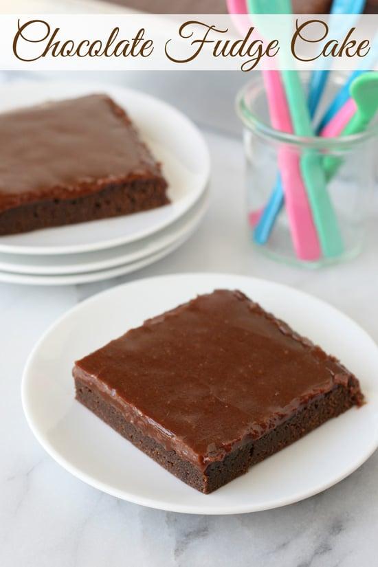 Chocolate Fudge Cake - Rich, sweet and oh so chocolaty!!