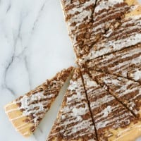 Cinnamon Streusel Dessert Pizza - So simple to make and everyone loves it!!
