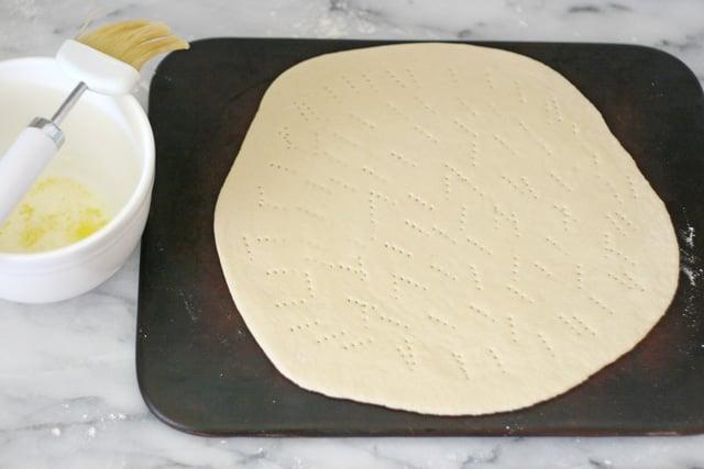 Cinnamon Streusel Dessert Pizza Recipe