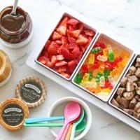Ice Cream Toppings - Host a fun ice cream sundae party!