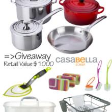 Le Creuset & Casabella Cookware Giveaway