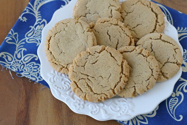 Chewy Peanut Butter Cookie Recipe - One bite and you'll remember why this is such a beloved classic!