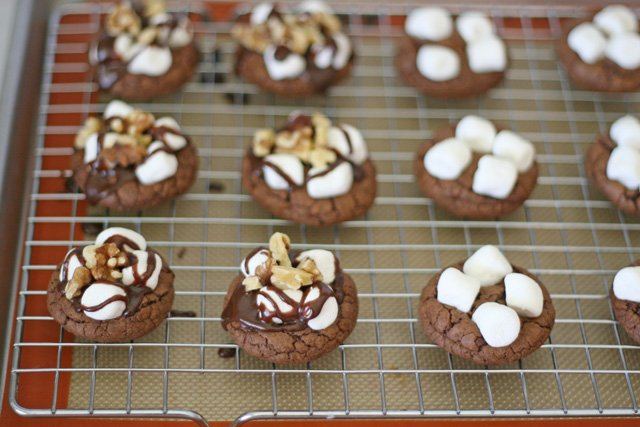 Rocky Road Cookies | GloriousTreats.com