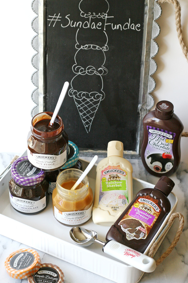 Smucker's Ice Cream Toppings Giveaway!