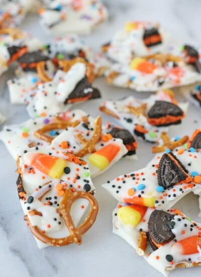 Easy Halloween Candy Bark Recipe