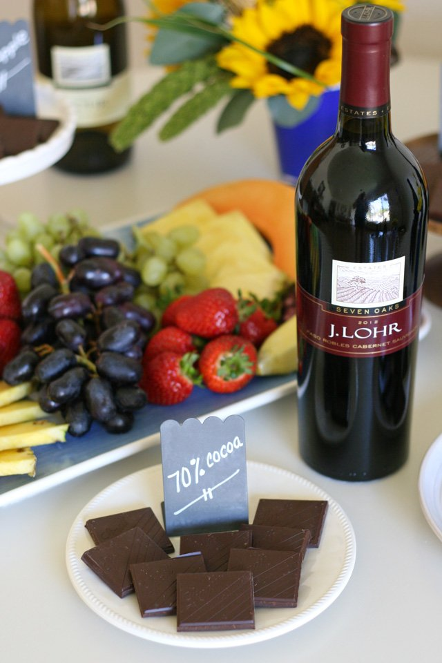 Chocolate and Wine Tasting Party Ideas