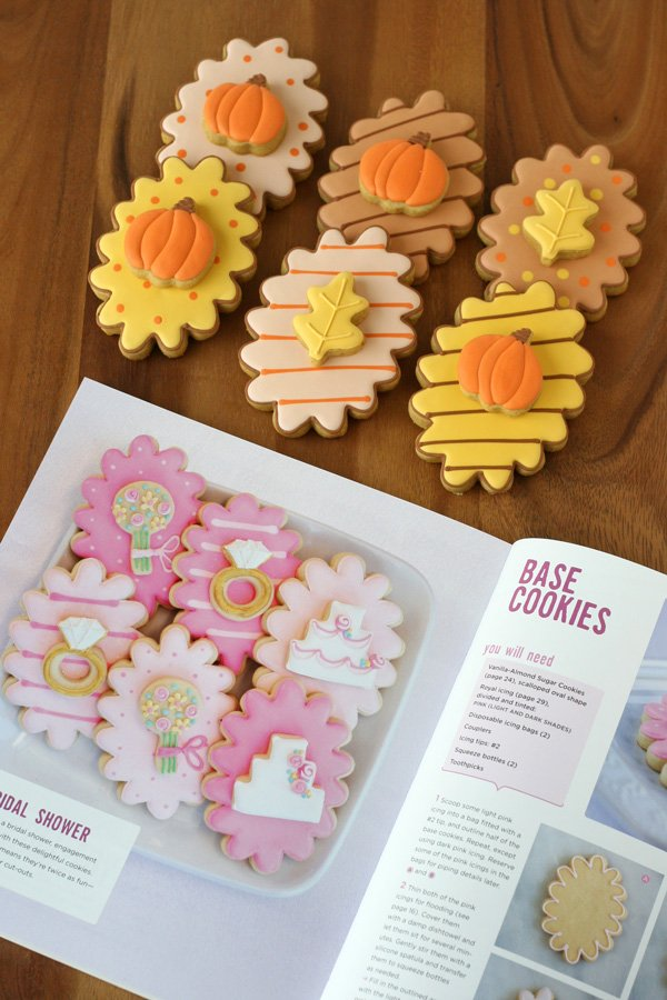 Fall Double Decker Cookies - Inspired by Decorating Cookies Party Book