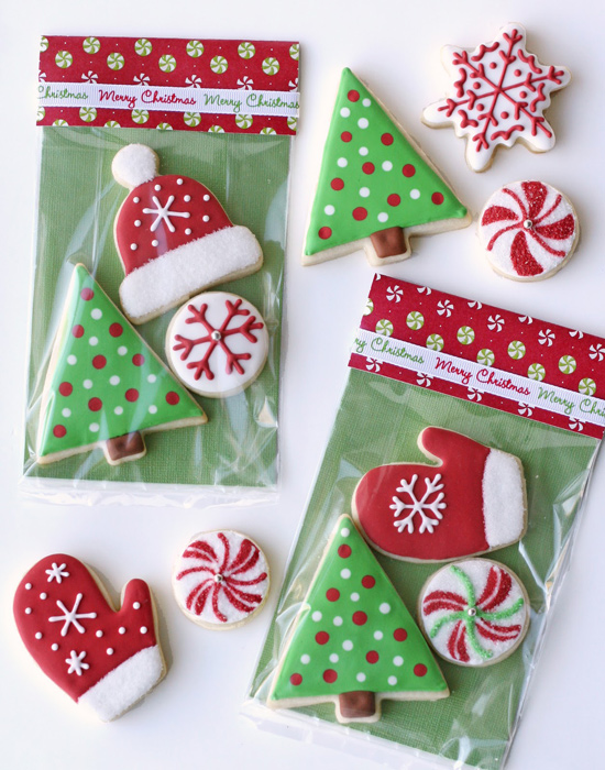 Awesome Decorated Christmas Cookies Glorious Treats Easy Diy Christmas Decorations Tissureus