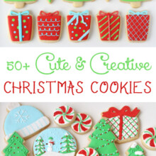 Cute & Createive Decorated Christmas Cookies - An amazing collection of cookie ideas!