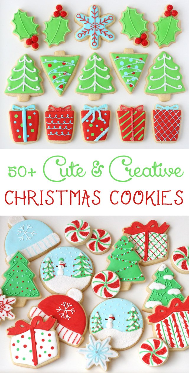 decorated christmas cookies - Decorated Christmas Sugar Cookies