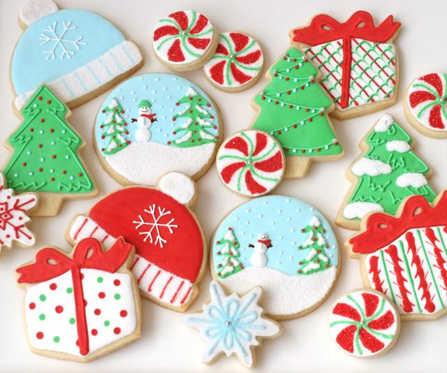 Incredible Decorated Christmas Cookies Glorious Treats Easy Diy Christmas Decorations Tissureus