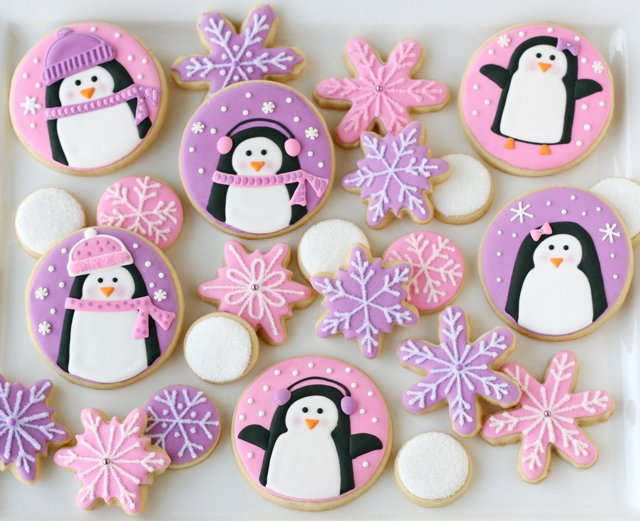 Penguin Christmas Cookies - The cutest cookies ever!