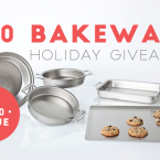 Gorgeous Stainless Steel Bakeware {Giveaway}!