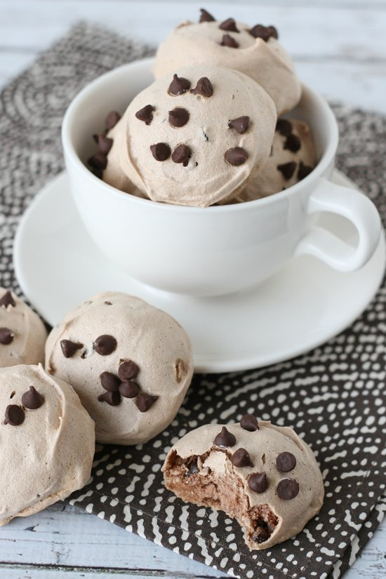 Mom's Chocolate Chip Meringues Recipe — Dishmaps