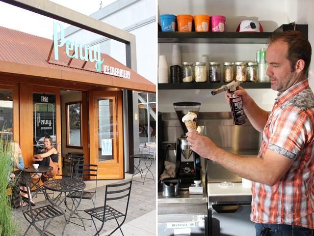 The Penny Ice Creamery, Santa Cruz, CA