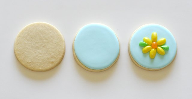 Jelly Belly Flower Cookies