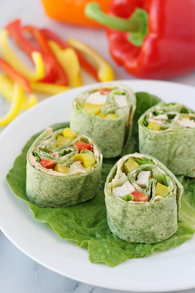 Fresh and delicious Salsa Cream Cheese Chicken Roll-Ups are a perfect party appetizer!